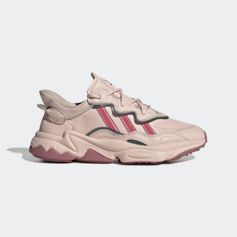 Icey Pink/Real Pink/Trace Maroon Adidas Originals Ozweego Women's Shoes EE5719