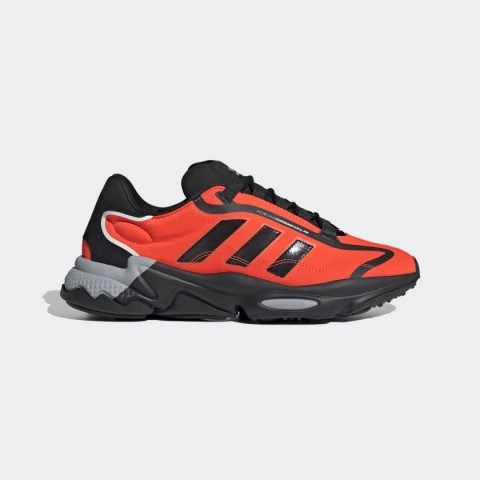 Core Black/Solar Red/Grey Two Adidas Originals Ozweego Pure Unisex Shoes G55505